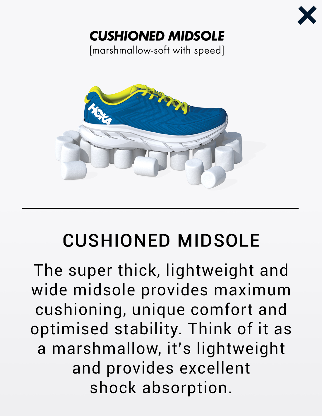 Cushioned Midsole