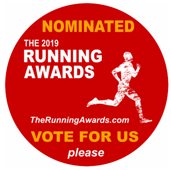Nominated for the 2019 Running Awards - Please vote for us