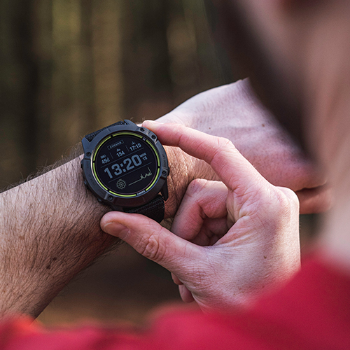 The Garmin Enduro™ multisport GPS smartwatch